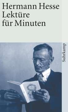 Hermann Hesse: Lektüre für Minuten, Buch