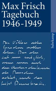 Max Frisch: Tagebuch 1946-1949, Buch