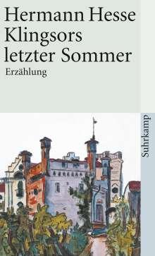 Hermann Hesse: Klingsors letzter Sommer, Buch