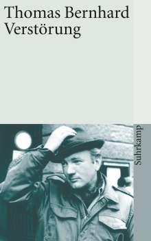 Thomas Bernhard: Verstörung, Buch