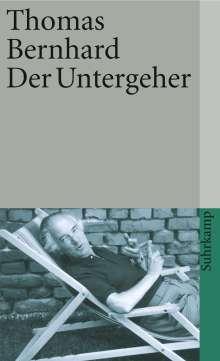 Thomas Bernhard: Der Untergeher, Buch