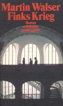 Martin Walser: Finks Krieg, Buch