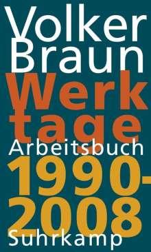 Volker Braun: Werktage 2, Buch