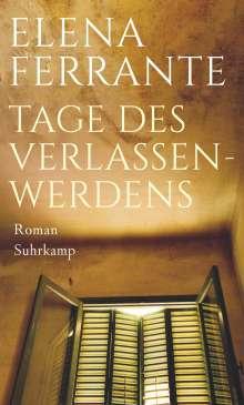 Elena Ferrante: Tage des Verlassenwerdens, Buch