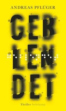 Andreas Pflüger: Geblendet, Buch