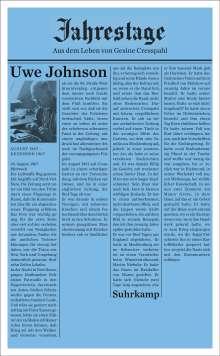 Uwe Johnson: Jahrestage. Bd.1, Buch