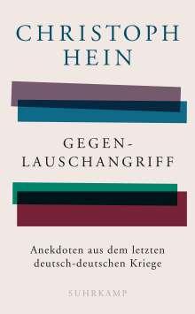 Christoph Hein: Gegenlauschangriff, Buch
