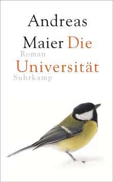 Andreas Maier: Die Universität, Buch