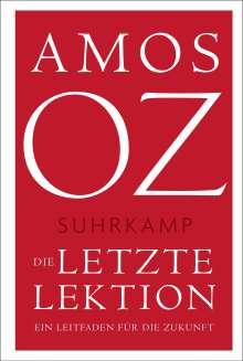 Amos Oz: Die letzte Lektion, Buch