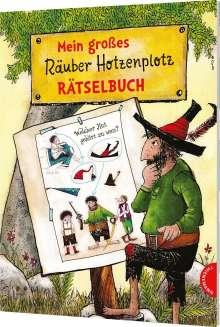Otfried Preußler: Mein großes Räuber Hotzenplotz-Rätselbuch, Buch