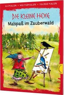 Otfried Preußler: Die kleine Hexe. Malspaß im Zauberwald, Buch