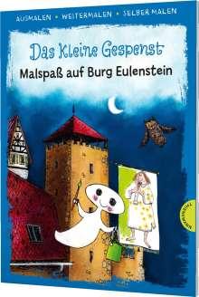 Otfried Preußler: Das kleine Gespenst. Malspaß auf Burg Eulenstein (Ausmalen, weitermalen, selber malen), Buch