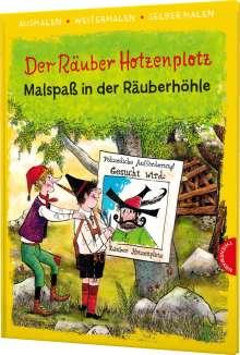 Otfried Preußler: Der Räuber Hotzenplotz. Malspaß in der Räuberhöhle (Ausmalen, weitermalen, selber malen), Buch