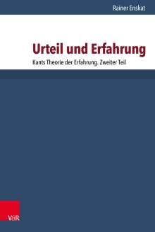 Rainer Enskat: Urteil und Erfahrung, Buch