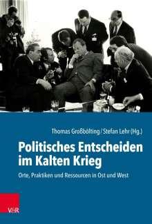 Politisches Entscheiden im Kalten Krieg, Buch