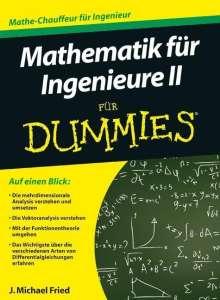 J. Michael Fried: Mathematik für Ingenieure 2 für Dummies, Buch