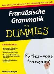 Norbert Berger: Französische Grammatik für Dummies, Buch
