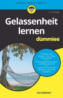 Eva Kalbheim: Gelassenheit lernen für Dummies, Buch