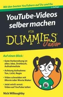 Nick Willoughby: YouTube-Videos selber machen für Dummies Junior, Buch