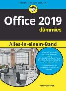 Peter Weverka: Office 2019 Alles-in-einem-Band für Dummies, Buch
