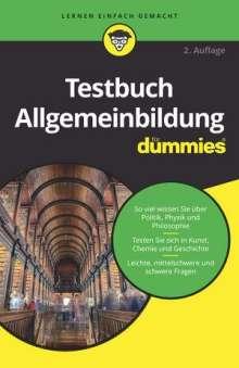 Testbuch Allgemeinbildung für Dummies, Buch