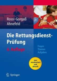 F. W. Ahnefeld: Die Rettungsdienst-Prüfung, Buch