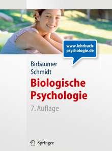 Niels Birbaumer: Biologische Psychologie, Buch