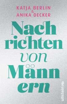 Anika Decker: Nachrichten von Männern, Buch