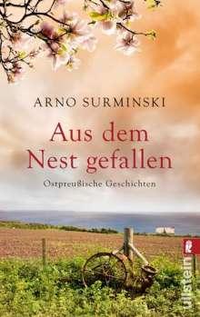 Arno Surminski: Aus dem Nest gefallen, Buch
