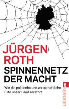Jürgen Roth: Spinnennetz der Macht, Buch