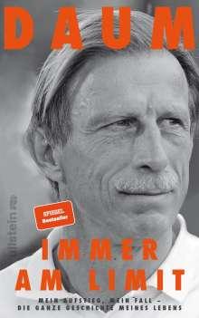 Christoph Daum: Immer am Limit, Buch