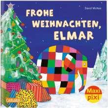 David McKee: Maxi Pixi 299: VE 5 Frohe Weihnachten, Elmar! (5 Exemplare), Buch