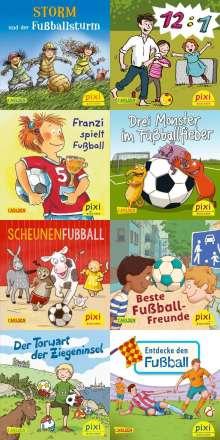 Jan Birck: Pixi-Serie Nr. 267: Pixi spielt Fußball (8x8 Exemplare), Buch