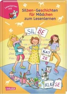 Katja Reider: LESEMAUS zum Lesenlernen Sammelbände: Silben-Geschichten für Mädchen zum Lesenlernen, Buch