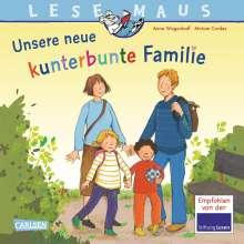 Anna Wagenhoff: LESEMAUS 170: Unsere neue kunterbunte Familie, Buch