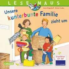 Anna Wagenhoff: LESEMAUS 171: Unsere kunterbunte Familie zieht um, Buch