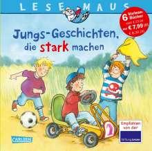 Christa Holtei: LESEMAUS Sonderbände: Jungs-Geschichten, die stark machen, Buch