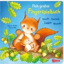 Florian Ahle: Mein großes Fingerspielbuch: Kitzeln, Kuscheln, Zappeln, Wackeln, Buch