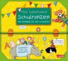 Christine Mildner: Schlau für die Schule: Schlau für die Schule: Mein kunterbunter Schulranzen (Buch-Set für den Schulstart), Buch