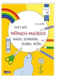 Vicky Gollhofer: Vicky Bo: Vicky Bo's Mitmach-Malbuch, Buch