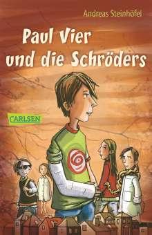 Andreas Steinhöfel: Paul Vier und die Schröders, Buch