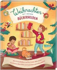 Axel Scheffler: Weihnachten mit meinen Bücherhelden, Buch