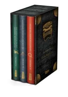 J. K. Rowling: Die Hogwarts-Schulbücher im Schuber, Buch