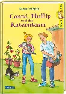 Dagmar Hoßfeld: Conni & Co 16: Conni, Phillip und das Katzenteam, Buch