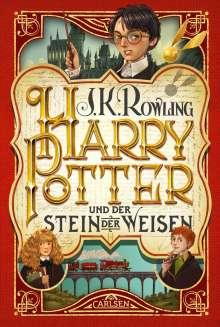 J. K. Rowling: Harry Potter 1 und der Stein der Weisen, Buch