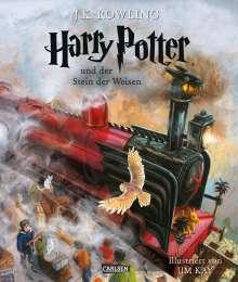 Joanne K. Rowling: Harry Potter 1 und der Stein der Weisen. Schmuckausgabe, Buch