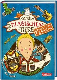 Margit Auer: Die Schule der magischen Tiere - Endlich Ferien 5: Benni und Henrietta, Buch