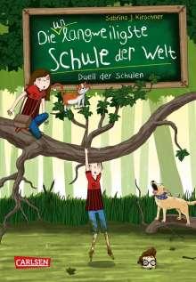 Sabrina J. Kirschner: Die unlangweiligste Schule der Welt 5: Duell der Schulen, Buch