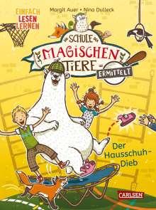 Margit Auer: Die Schule der magischen Tiere ermittelt 2: Der Hausschuh-Dieb (Zum Lesenlernen), Buch