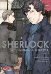 Jay.: Sherlock 4, Buch